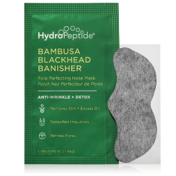 HYDROPEPTIDE BAMBUSA BLACKHEAD BANISHER PORE PERFECTING NOSE MASK, ПОРОСУЖИВАЮЩАЯ ОЧИЩАЮЩАЯ МАСКА 8 ШТ