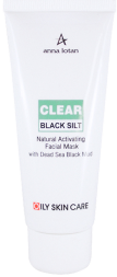 Маска Черная жемчужина Anna Lotan Clear Black Silt Activating Facial Mud Mask 90 мл